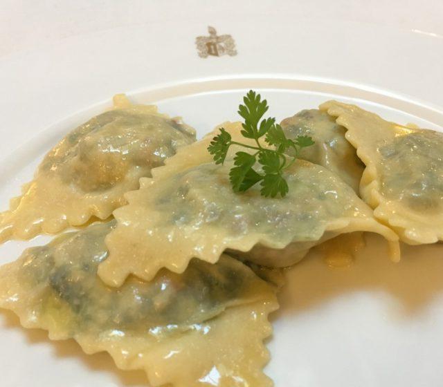 Spinat-Ricotta-Ravioli