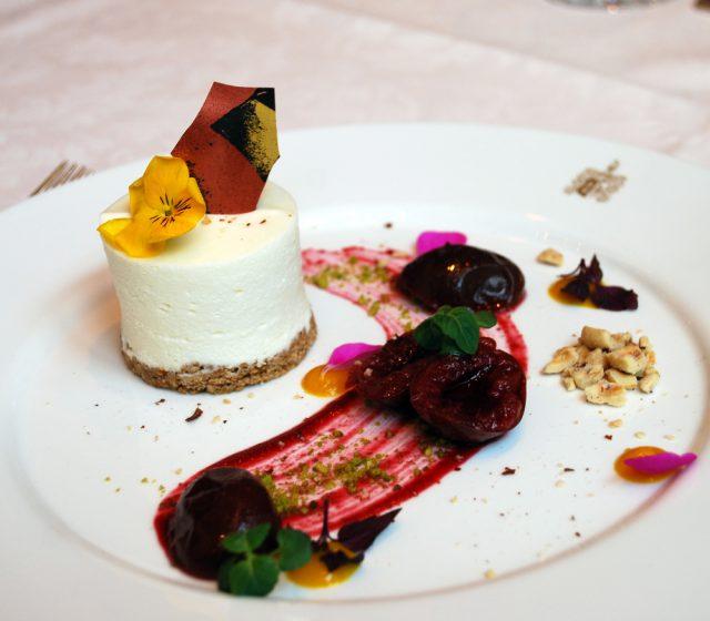 Cheesecake-Schnitte
