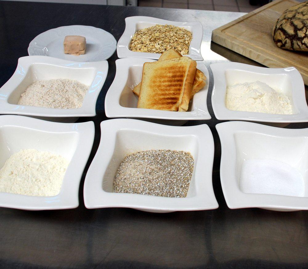 Zutaten für ein MARY´s Laib Brot