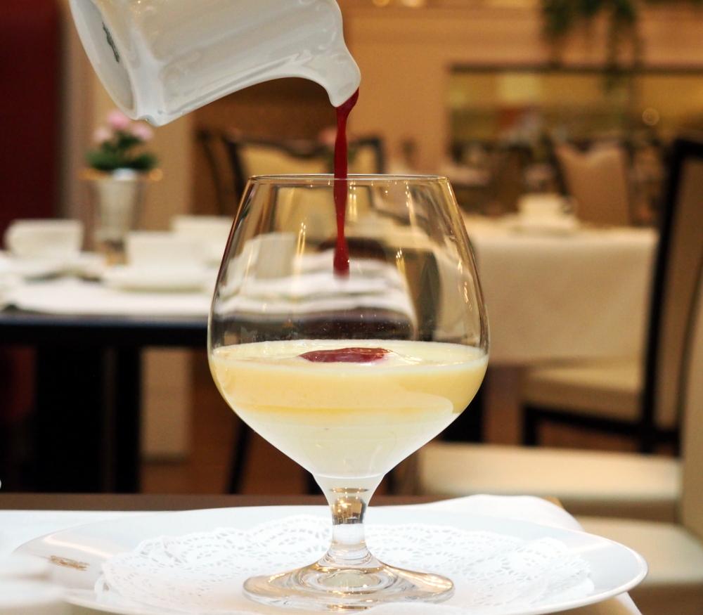 Zubereitung Weinschaum