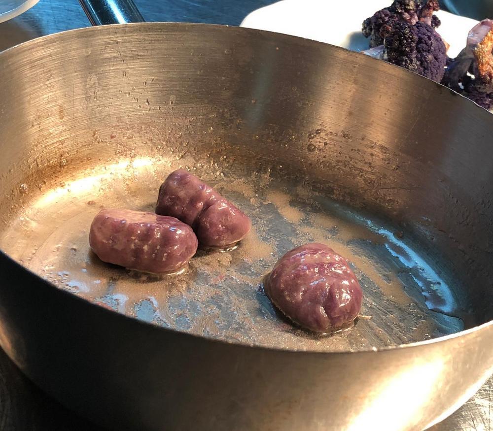 Zubereitung Lila Gnocchis
